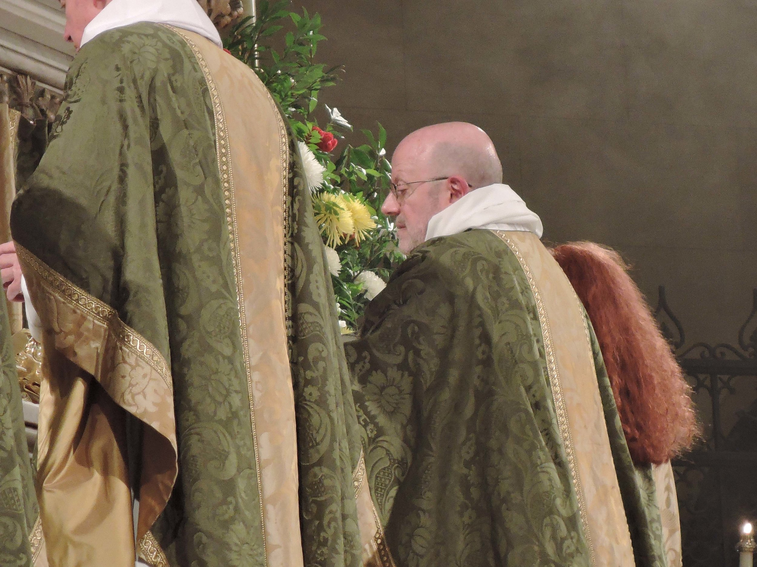 Father Jay Smith was celebrant and preacher on Sunday, June 25.
