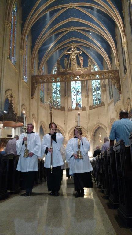 The Retiring Procession   Sunday, July 2, 2017