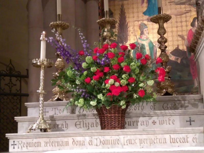 High Altar Flowers