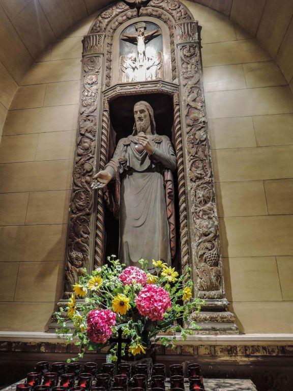 Sacred Heart Shrine    Statue by Lee Lawrie