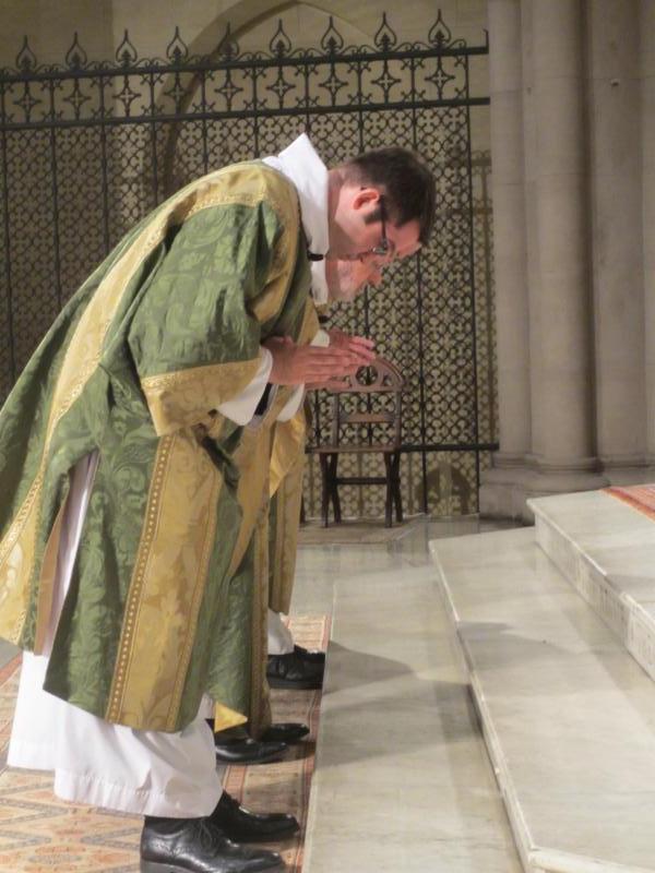 Dr. Matt Jacobson was deacon of the Mass.