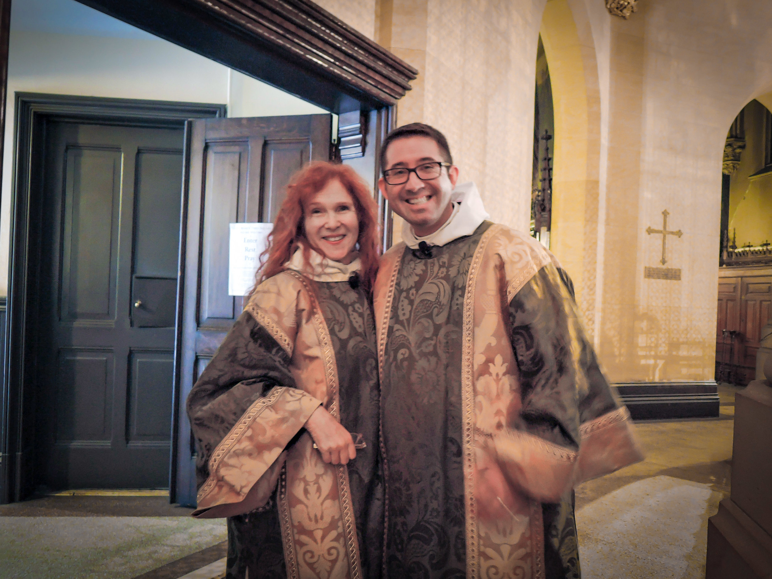 """Rejoice in the Lord always,"" Part II:     Deacon Rebecca Weiner Tompkins and     Deacon Matthew Jacobson"