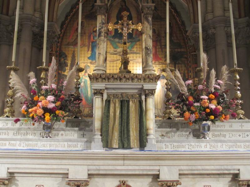 The High Altar, Sunday, September 24, 2017
