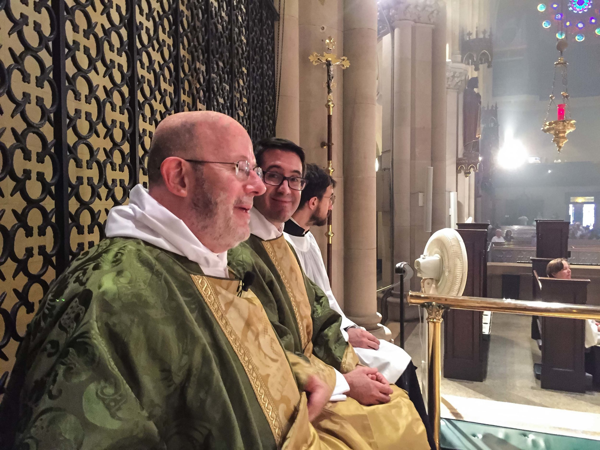 Father Smith was celebrant and preacher at Solemn Mass.
