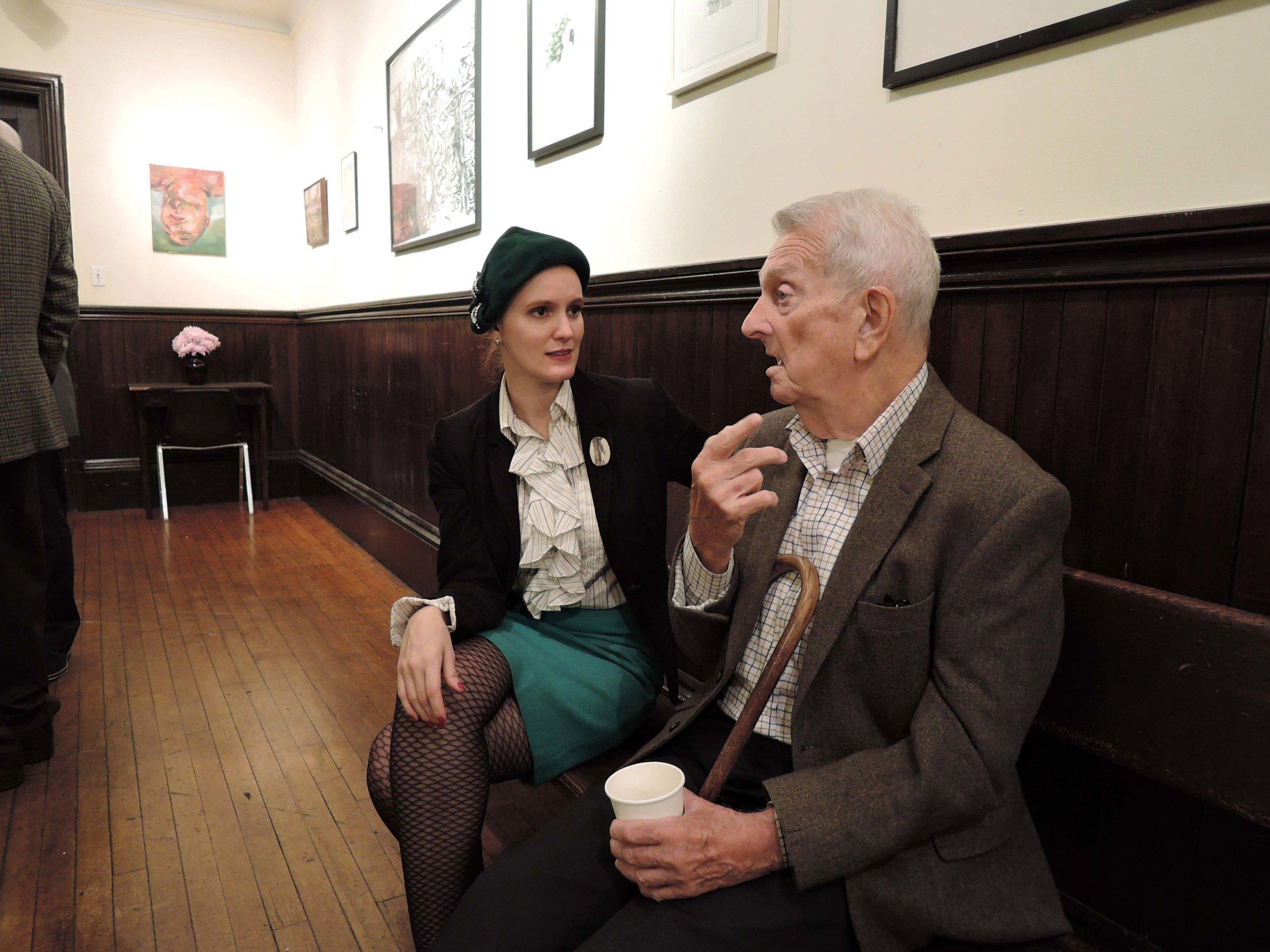 Parishioners J. Grace Mudd and Dick Leitsch
