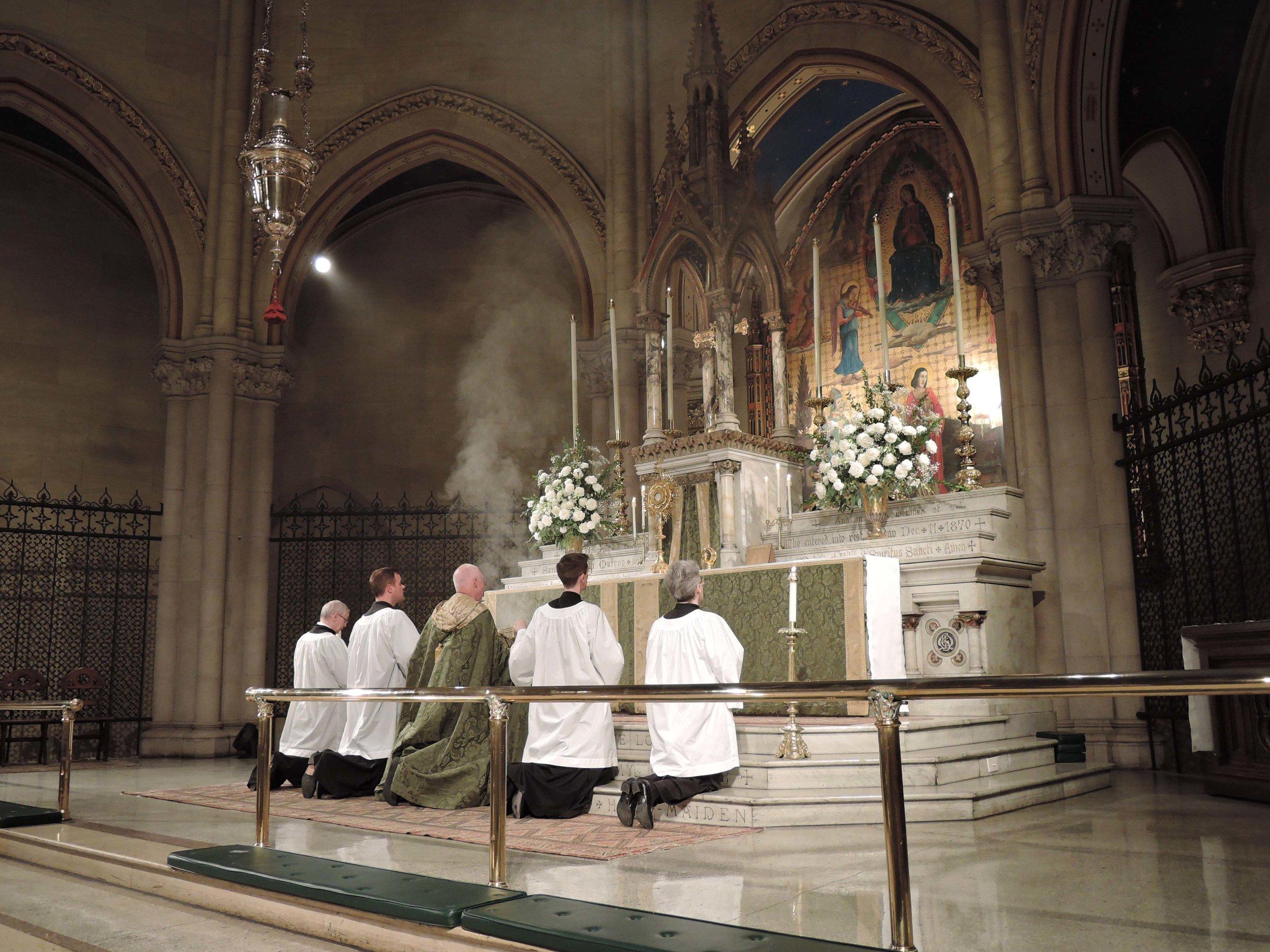 Eucharistic Benediction on Sunday, October 1