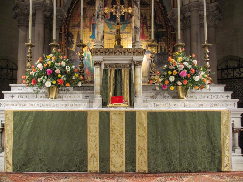 The High Altar, October 8, 2017