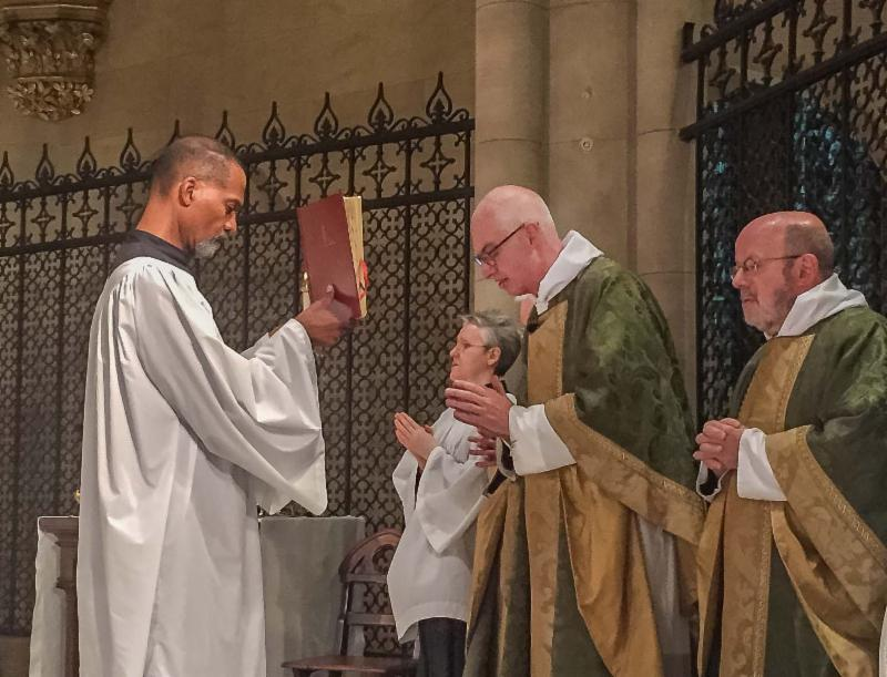 The Rector was celebrant and preacher at the Solemn Mass on Sunday.