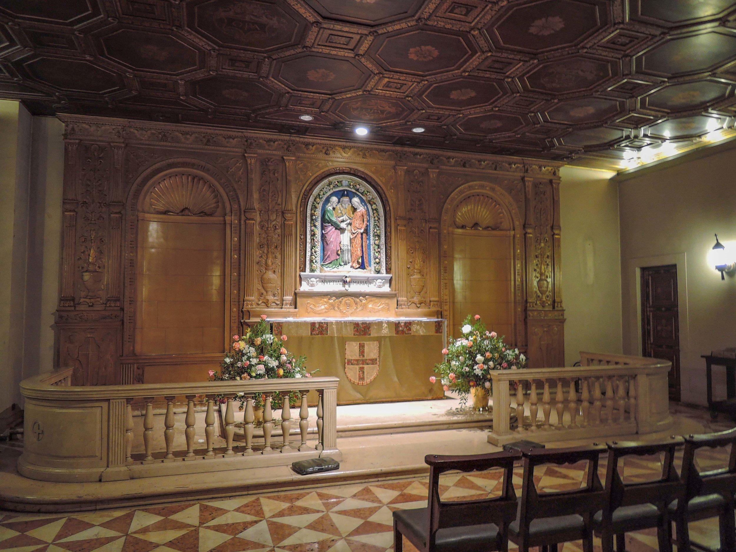 Saint Joseph's Chapel, Sunday, October 22, 2017