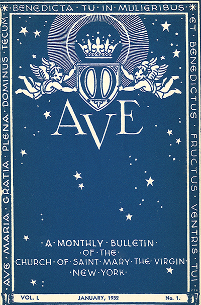 Click on the above cover to go to Project Canterbury, where the  Ave  archive is maintained.  We are seeking copies of missing issues. They can be scanned without damage to the bulletin and will be returned.  Click here  for more information and for a list of issues needed to complete the archive.