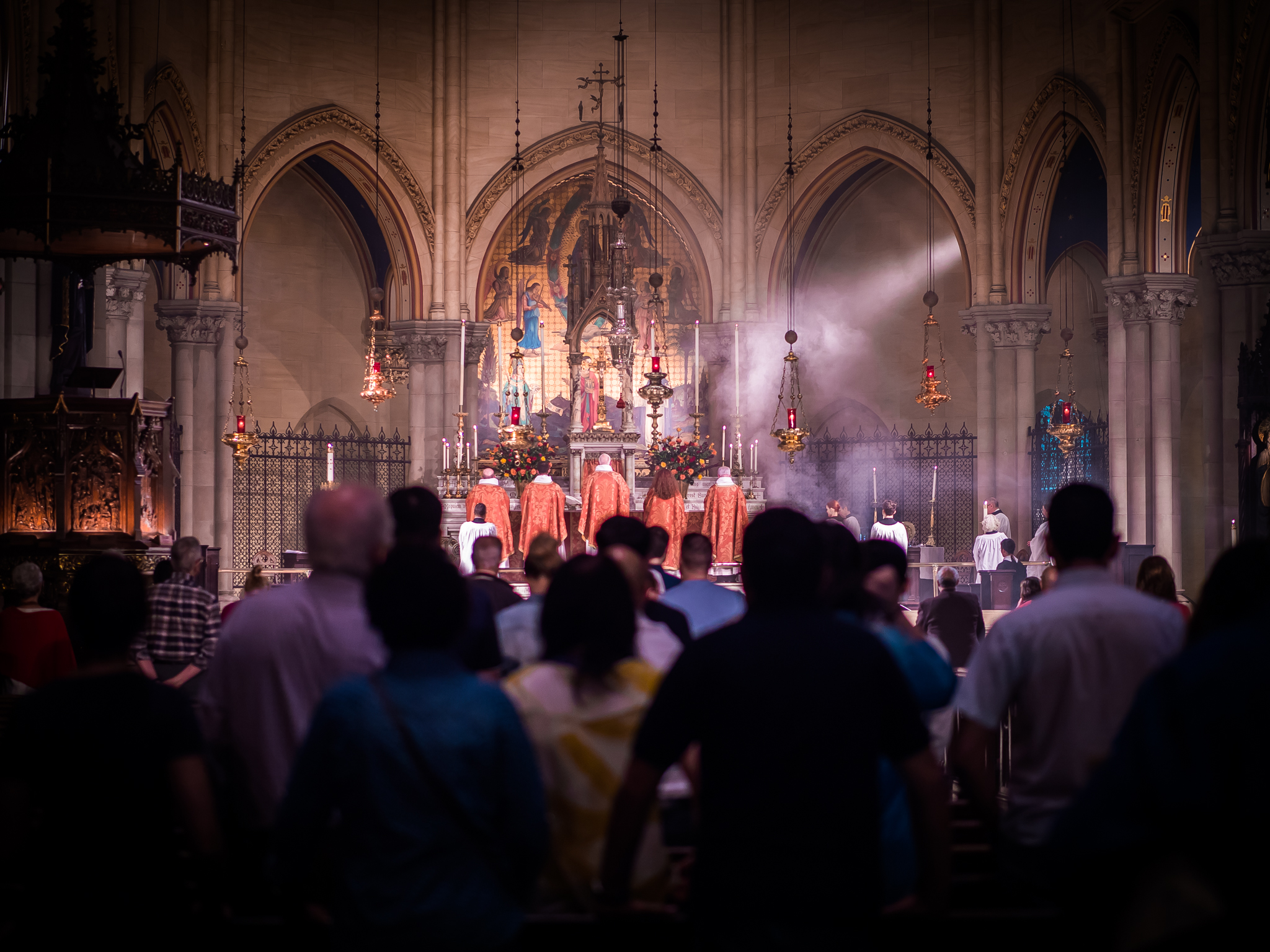 Solemn Mass on the Day of Pentecost  Photo by Ricardo Gomez
