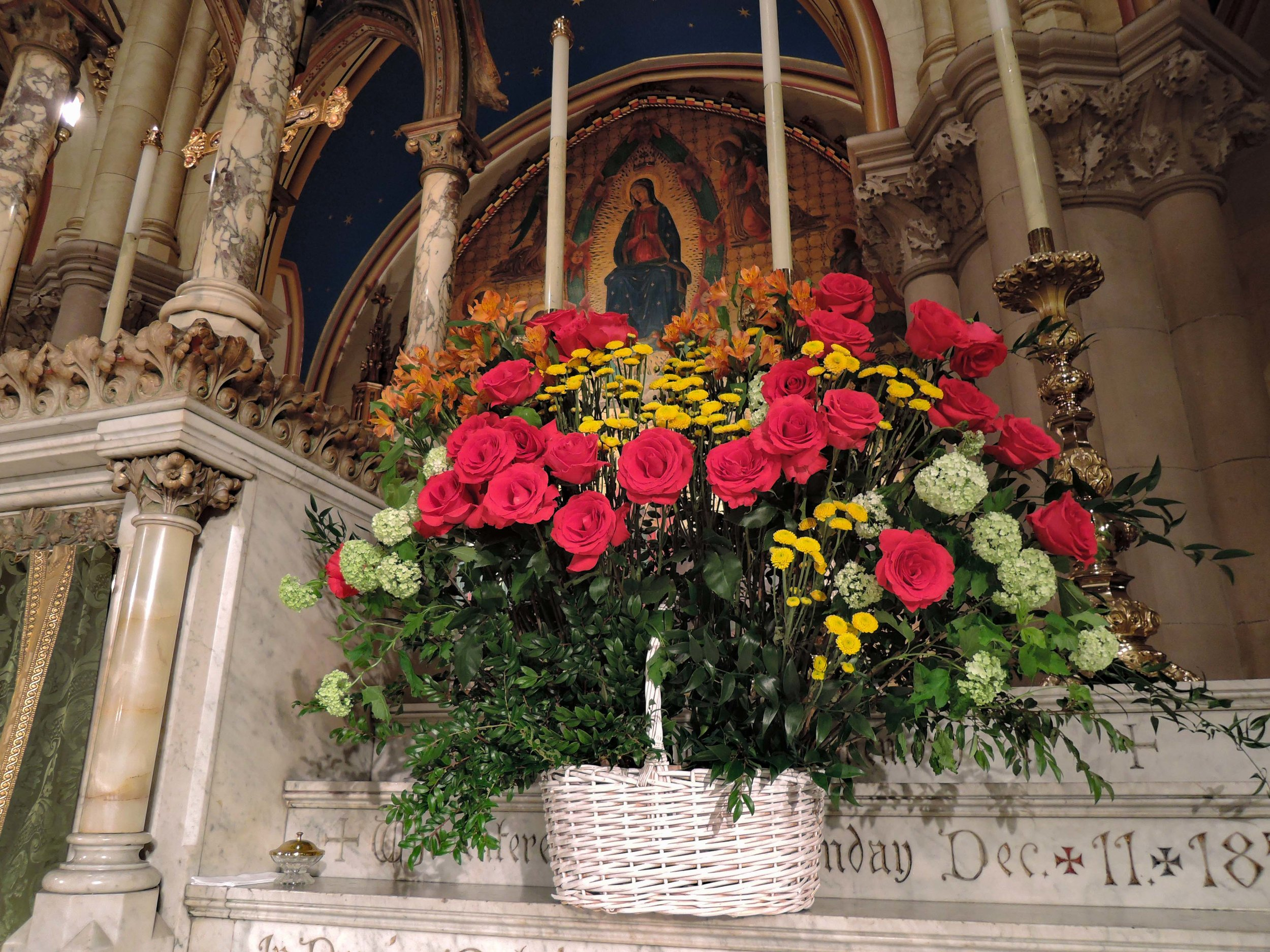 The High Altar, Sunday, July 8, 2018  Photo by Sr. Monica Clare, C.S.J.B.