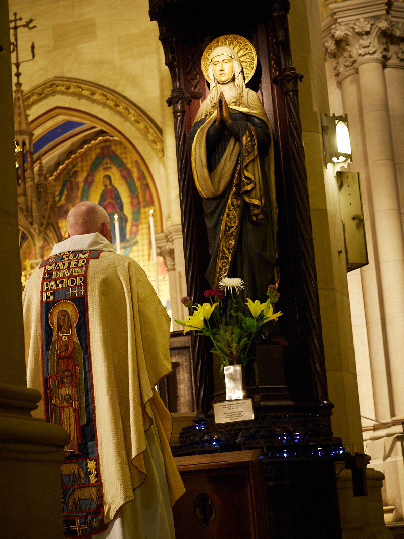 The Angelus on the Eve of the Nativity of the Blessed Virgin Mary   Photo by Ricardo Gomez
