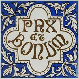 """Pax et Bonum"" or ""Peace and All Good"" is a well-known Franciscan motto."