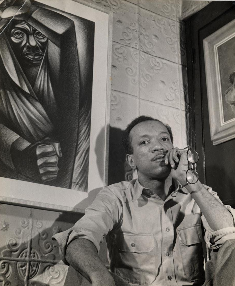 Charles W. White, Jr. (1918-1979)  Photo: Schomburg Center for Research in Black Culture