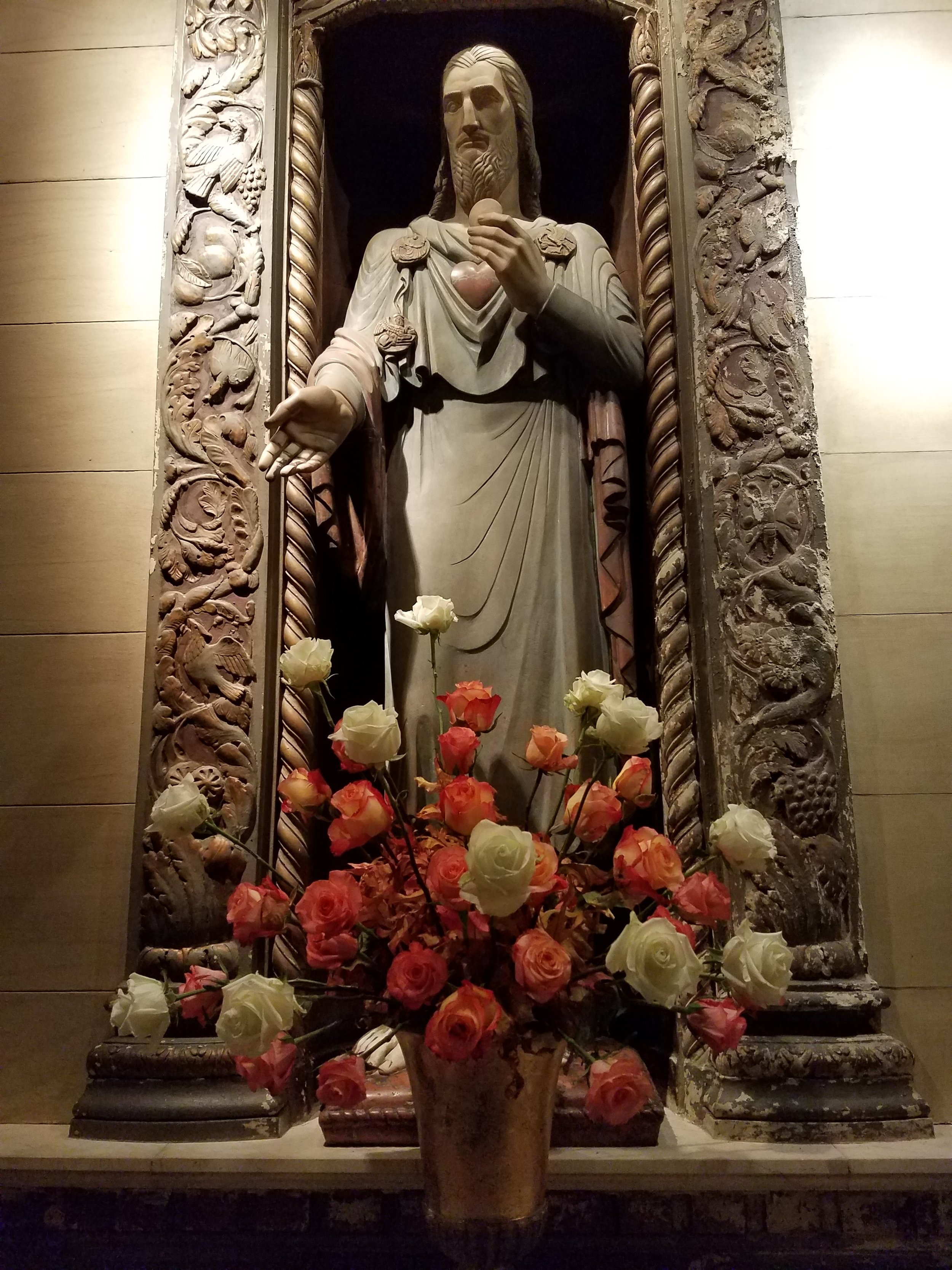 The Shrine of the Sacred Heart . Photo by Marie Rosseels