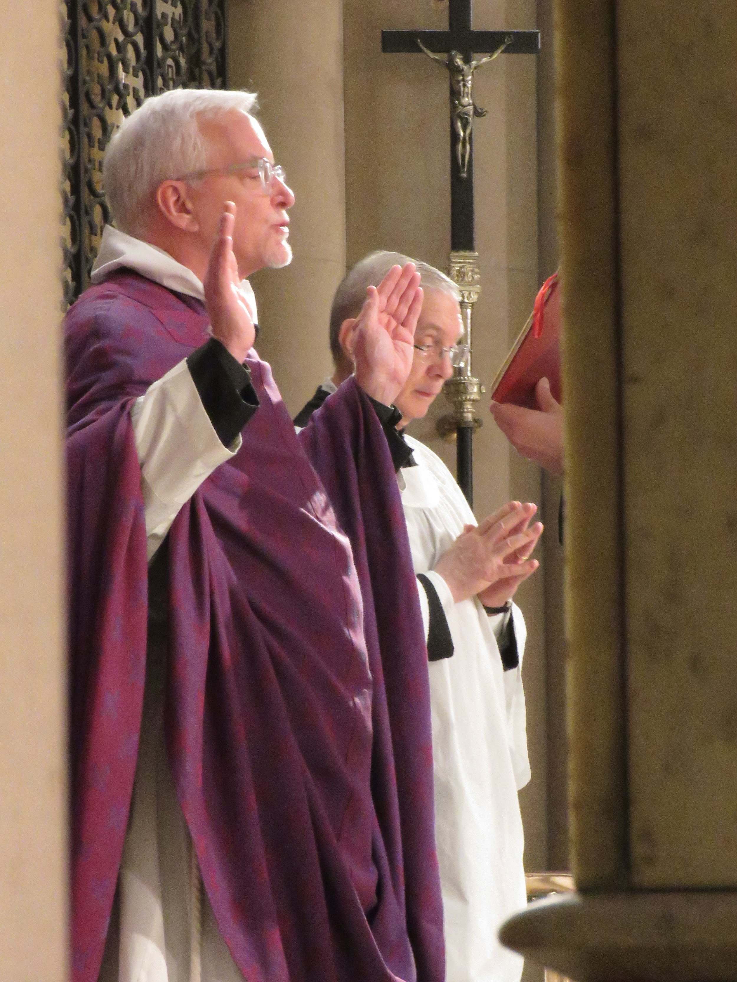 Fr. Jim Pace was celebrant and preacher for the Solemn Mass on the Second Sunday in Lent, March 17, 2019.   Photo by Damien Joseph SSF