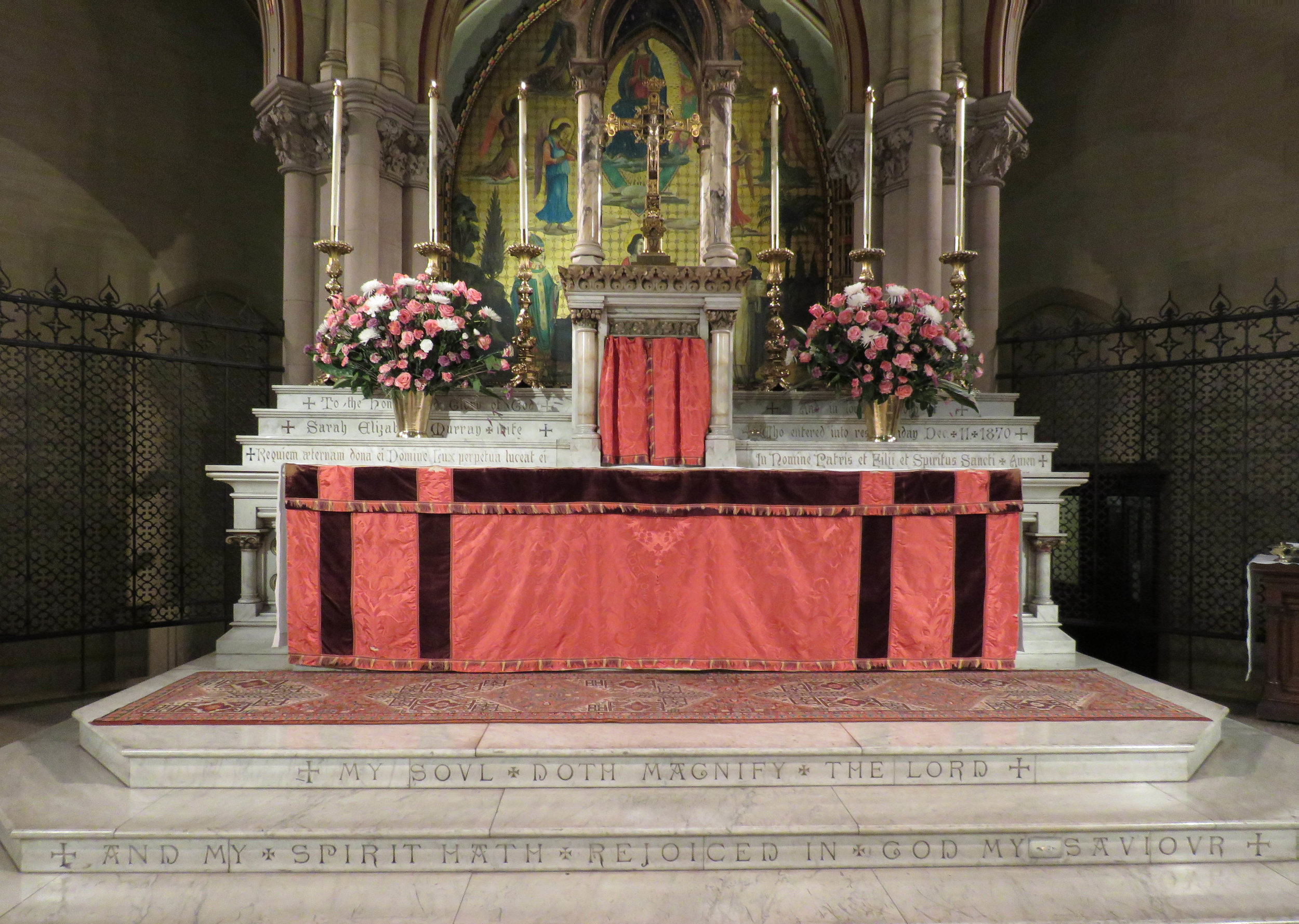 The High Altar, The Fourth Sunday in Lent, March 31, 2019   Photo by Damien Joseph SSF
