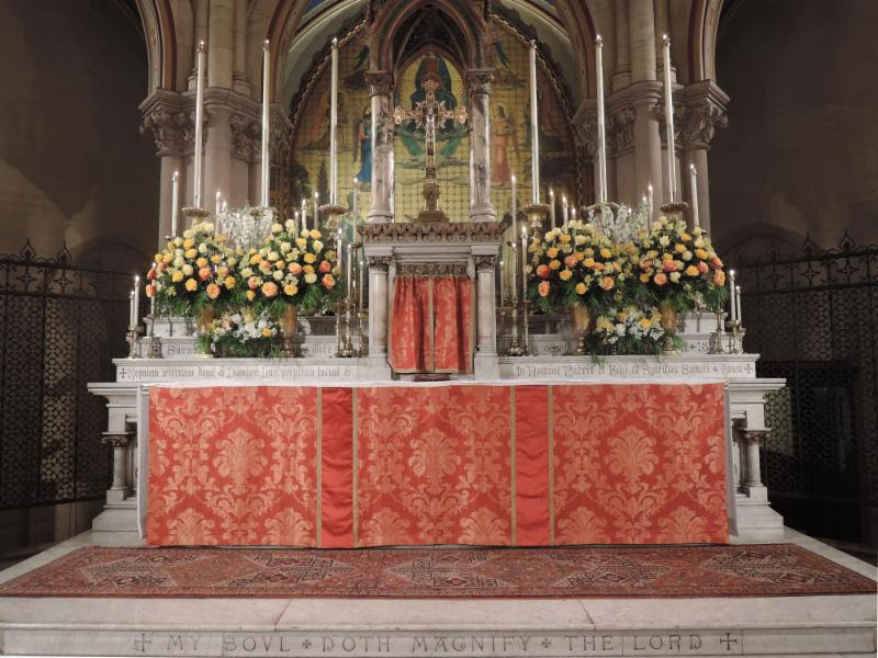 The High Altar, The Second Sunday of Easter, April 28, 2019  Photo by Brendon Hunter