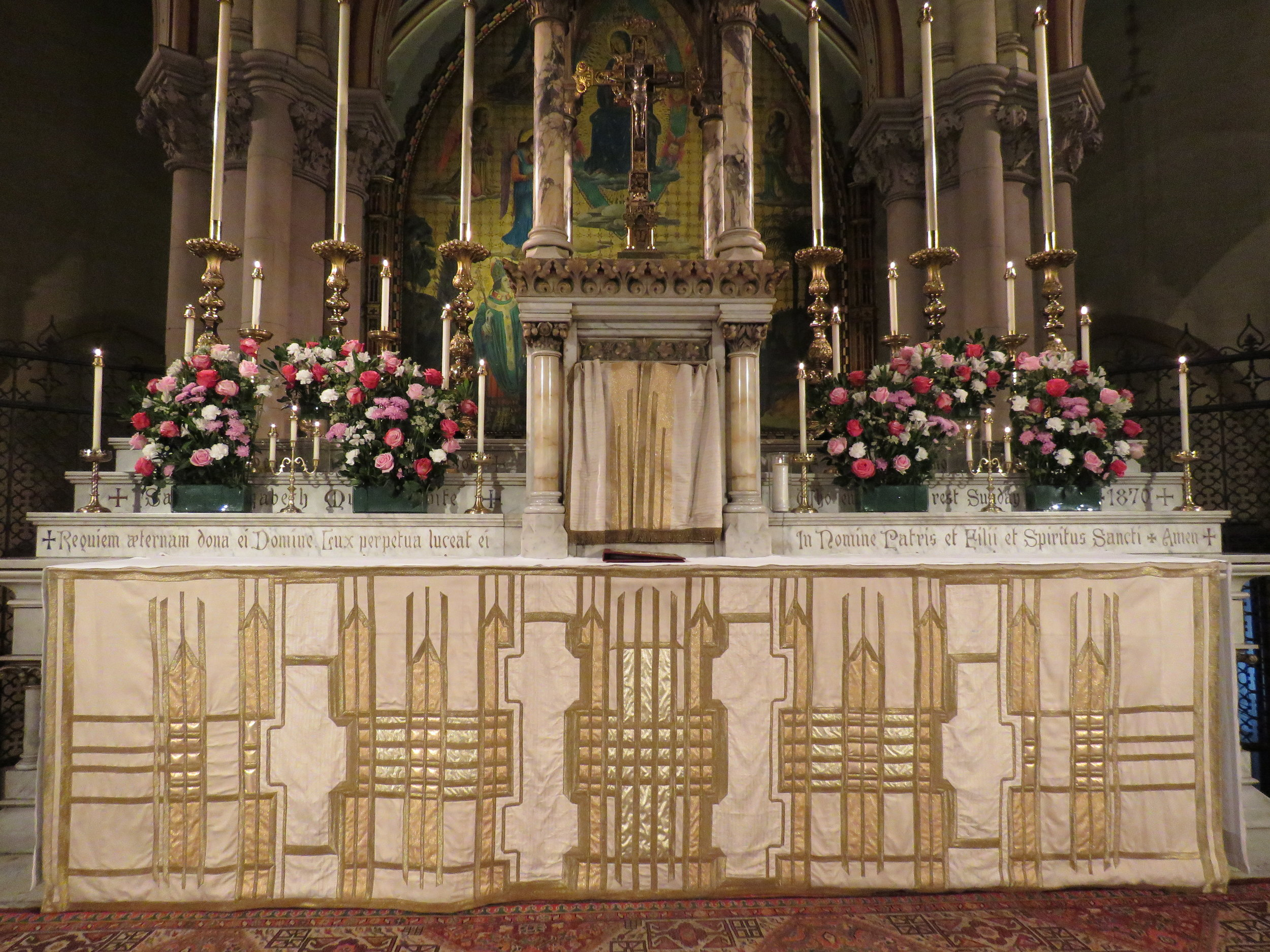 The High Altar, Trinity Sunday, June 16, 2019  Photo: Damien Joseph SSF