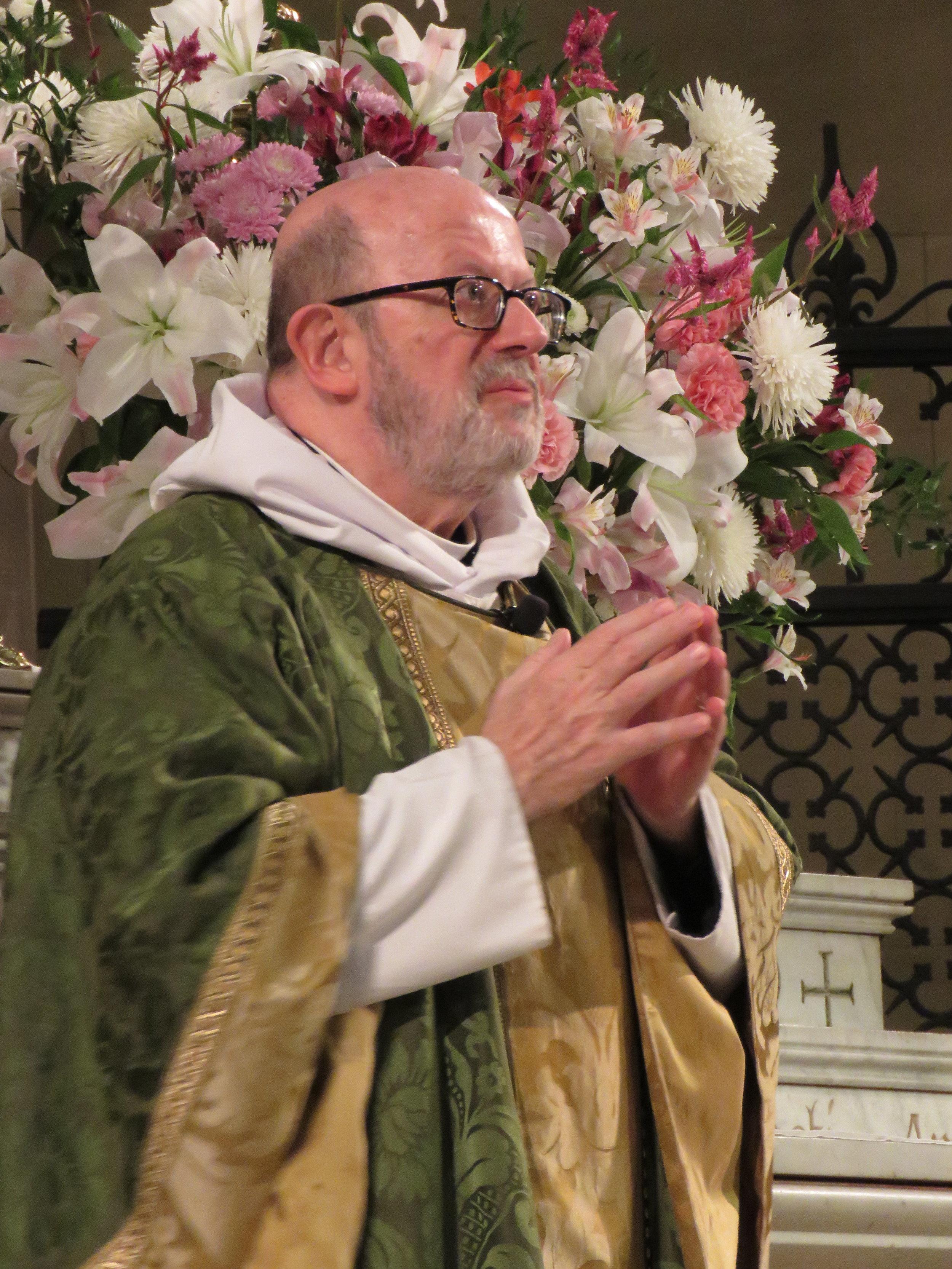 Father Jay Smith was celebrant and preacher.    Photo : Damien Joseph SSF