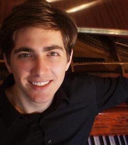 "Pianist Nathaniel LaNasa plays Beethoven's ""Emperor"" Concerto at Saint Mary's on Saturday night, October 12  Photo:  New York Repertory Orchestra"