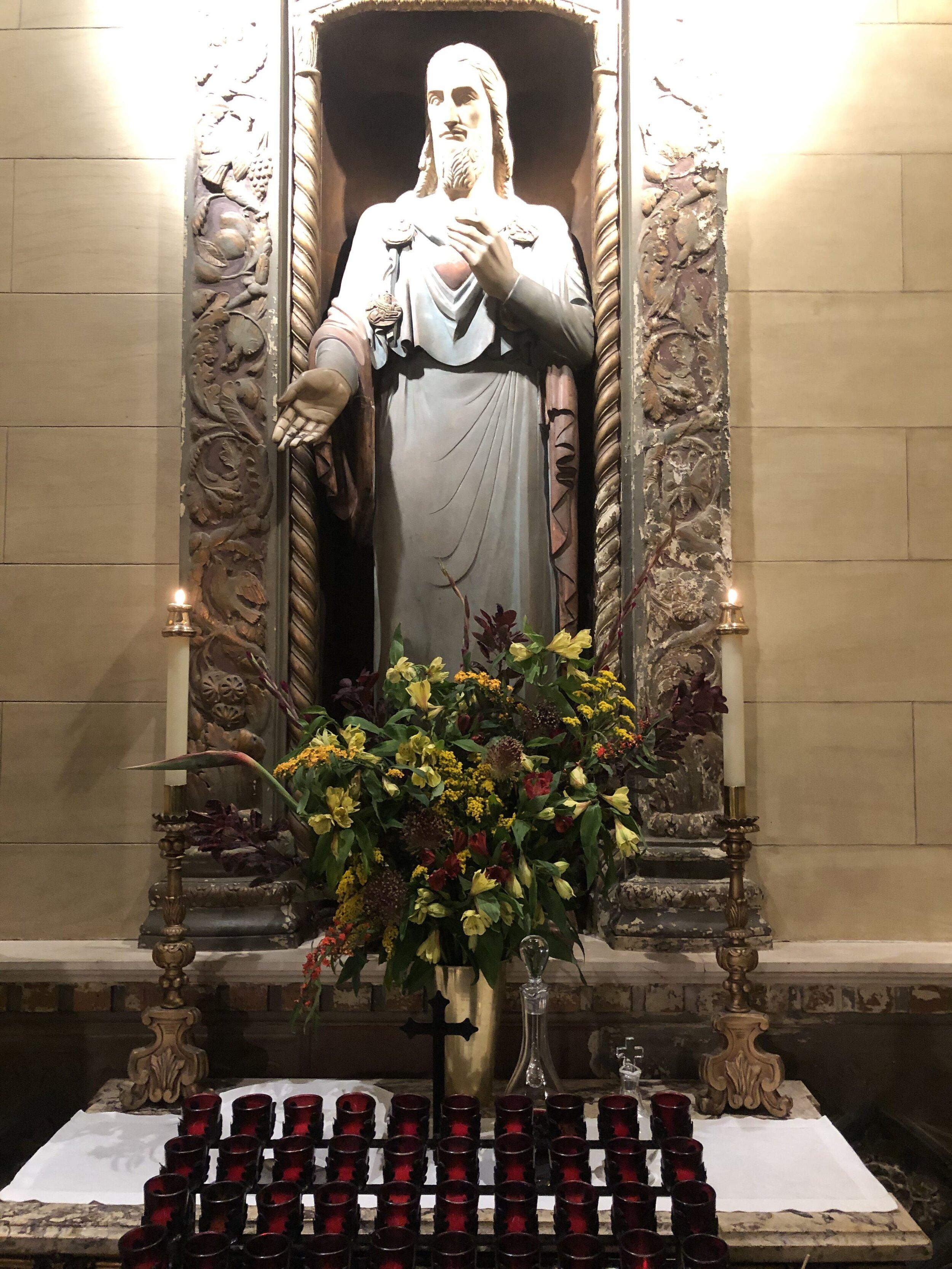 The Sacred Heart Shrine  Photo:  Brendon Hunter