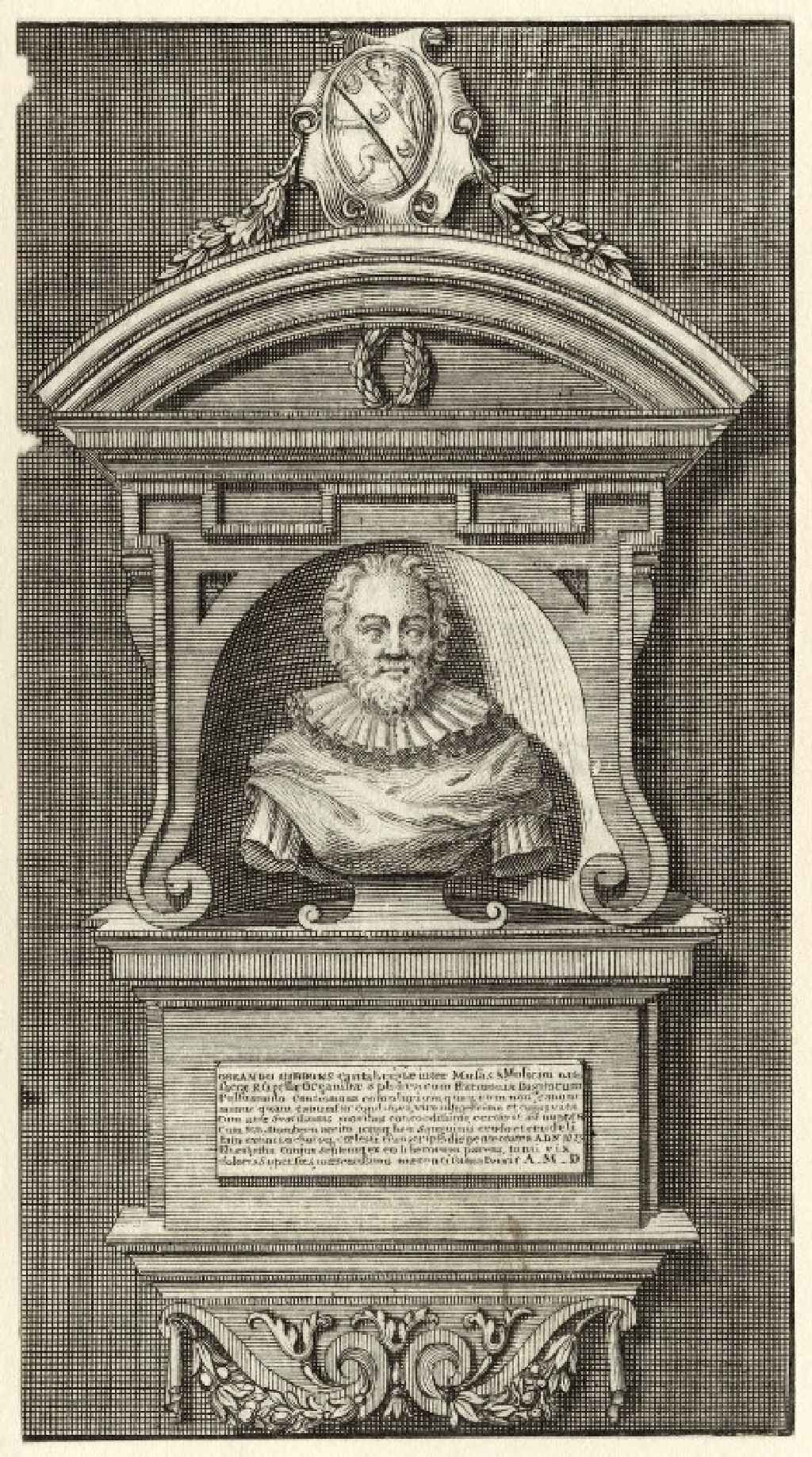 Monument to Orlando Gibbons 18th century, artist unknown; National Portrait Gallery, United Kingdom Used with permission.