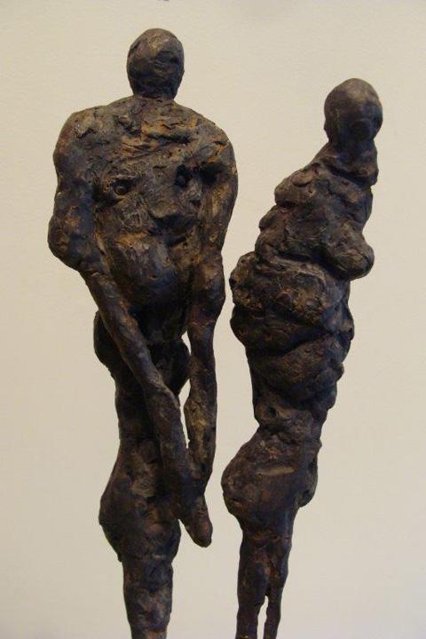 Kontakt 2 - detail - 2012 - brons