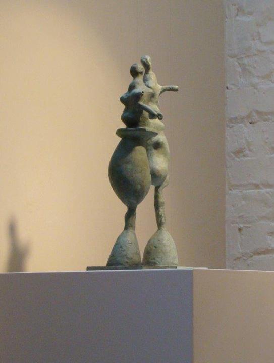 Kontakt - 2 delig  - 2012 - brons