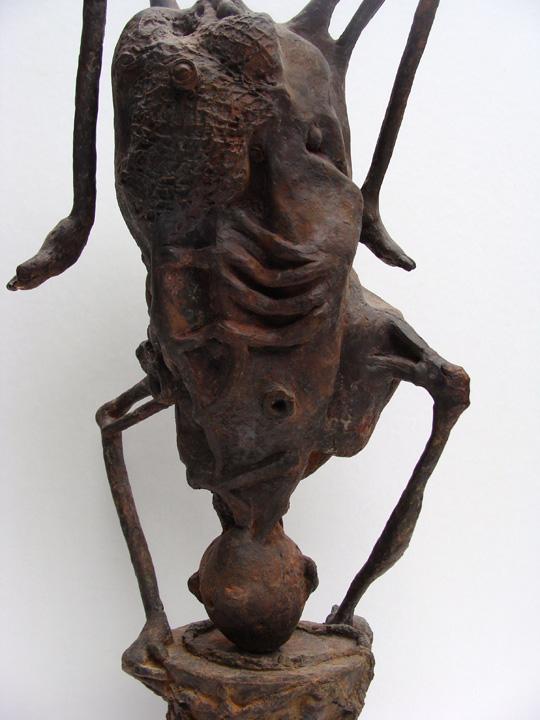 Acrobaat -2006-2007 -detail - brons