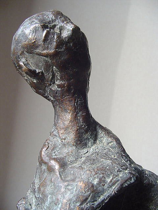 Bezwering - 2004 - detail  - brons