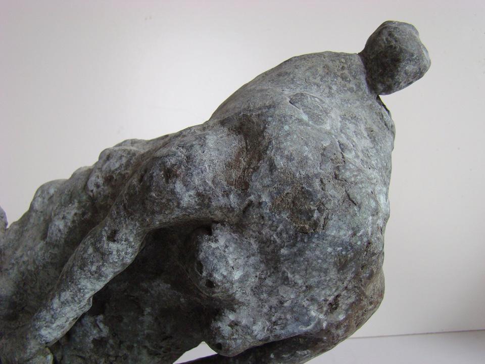 Pàmpeii revisited 8 - 2004 -detail - brons