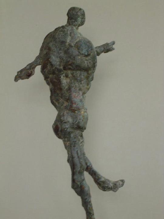 Pompeii revisited 3 - 2003 -detail - brons