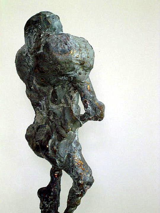Pompeii revisited - 2003 - detail - brons