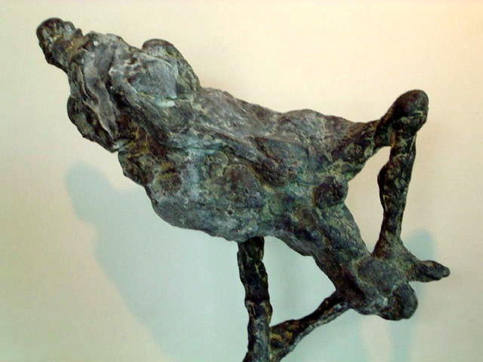 Pompeii revisited -2004 -detail - brons