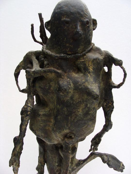 Sjamaan  2005- 2006  - detail - brons