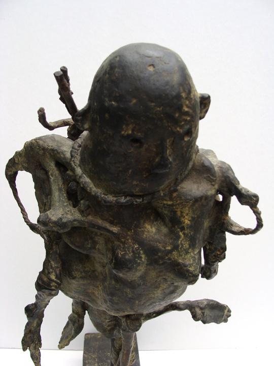 Sjamaan - 2005-2006 - detail - brons