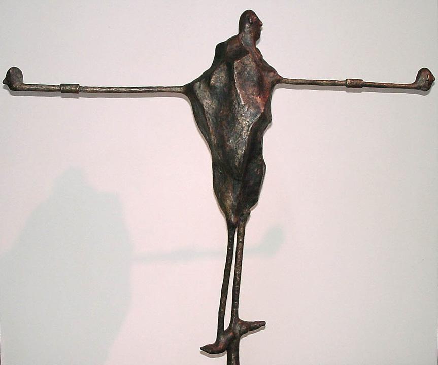 Wachter - 2008 - detail - brons