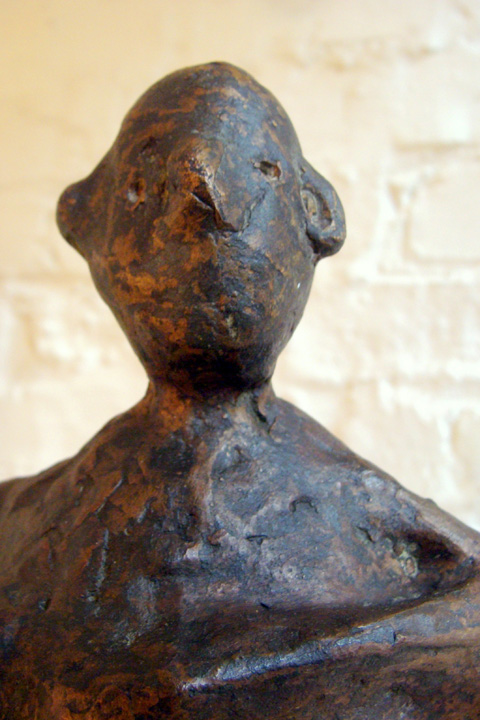 z. T. - 2005 - detail - brons