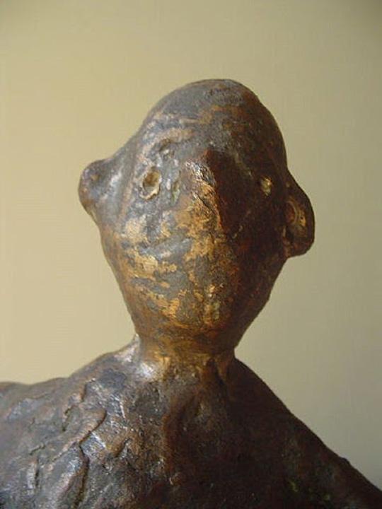 Z.T. - 2005 - detail - brons