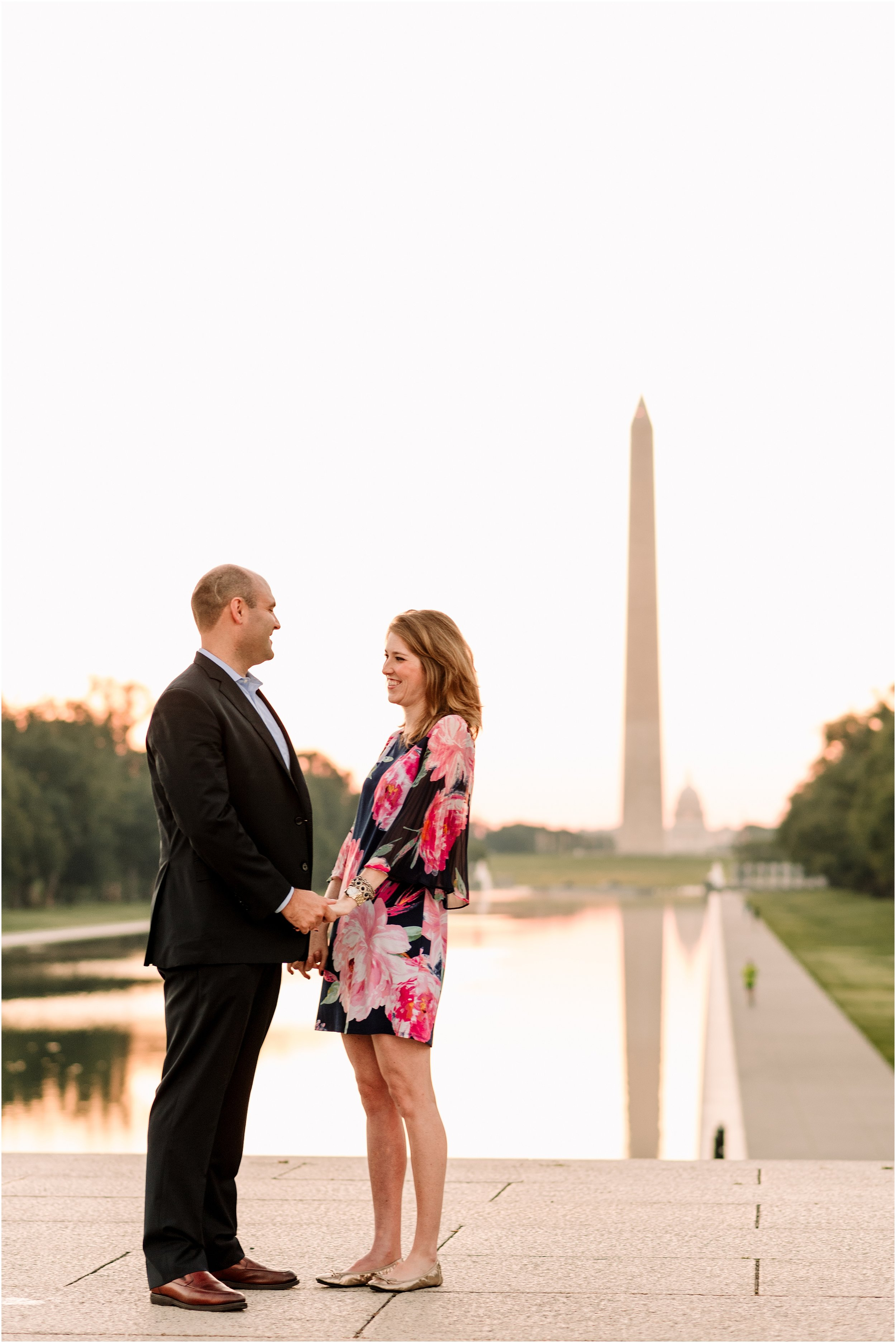 hannah leigh photography Sunrise Jefferson Memorial Engagement Session, Washington DC_1033.jpg