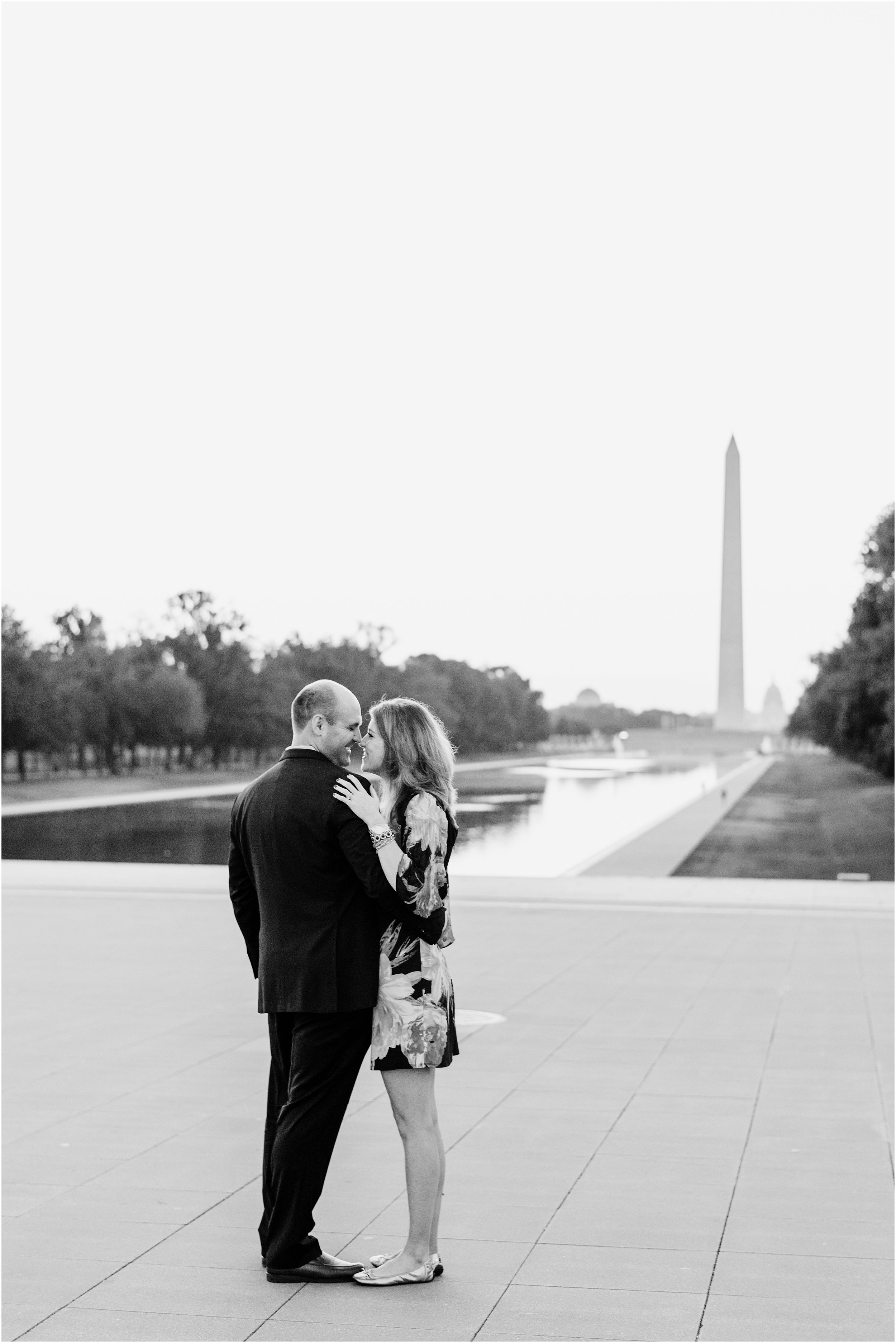 hannah leigh photography Sunrise Jefferson Memorial Engagement Session, Washington DC_1015.jpg
