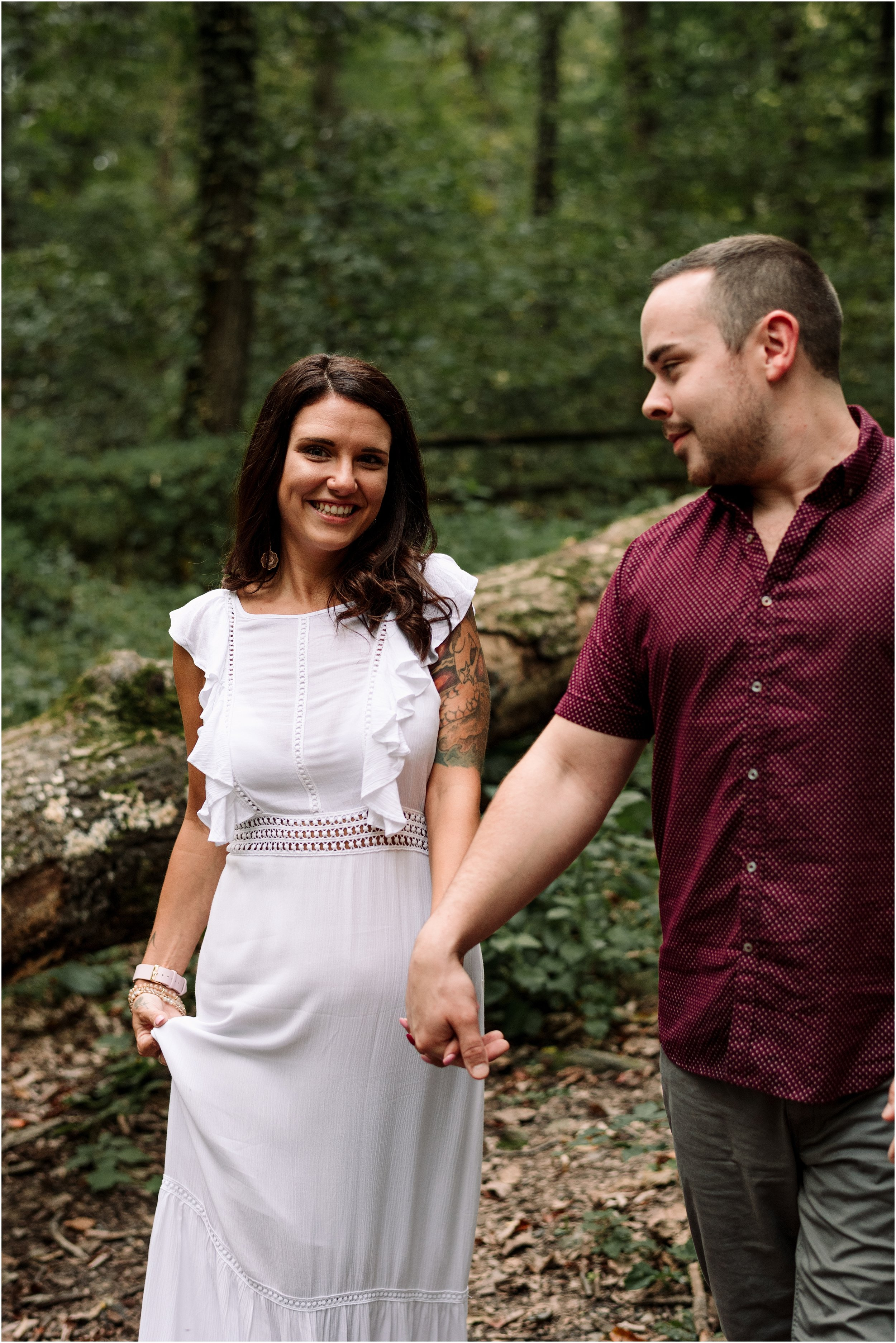 hannah leigh photography woodsy engagement session PA_1585.jpg
