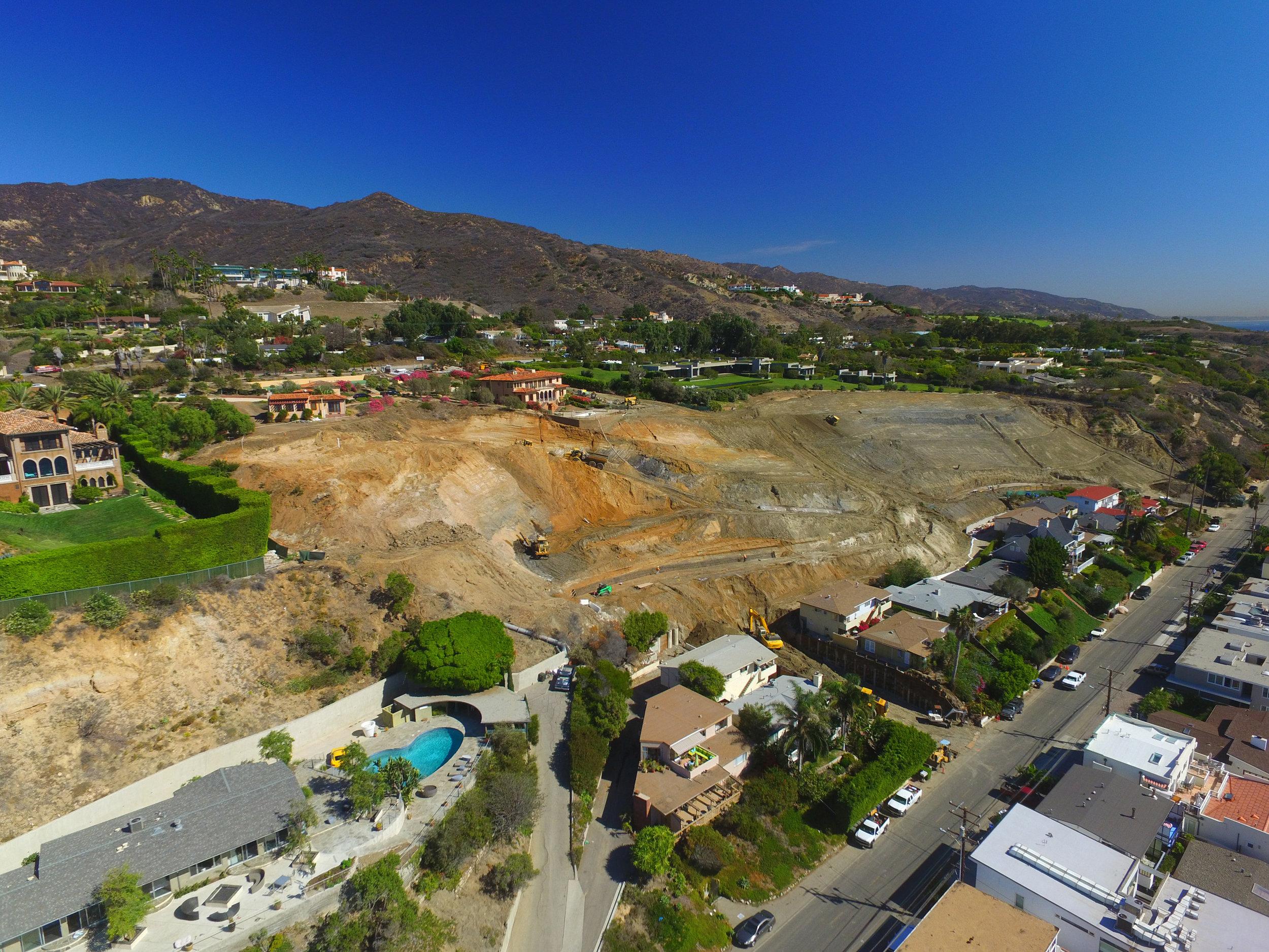 PUERCO CYN RD LANDSLIDE REPAIR | Malibu