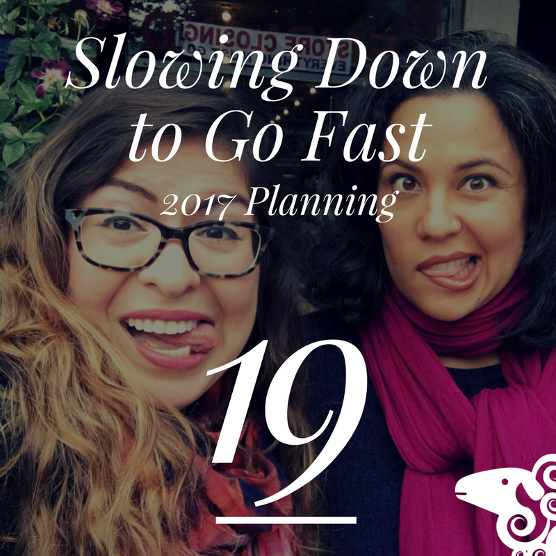 slowing-down-to-go-fast