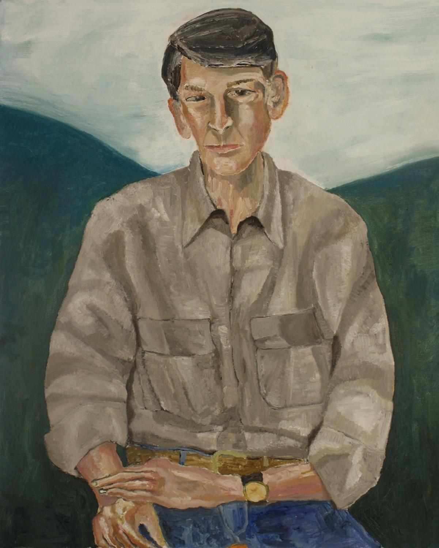 Mark Milroy Paints My Portrait