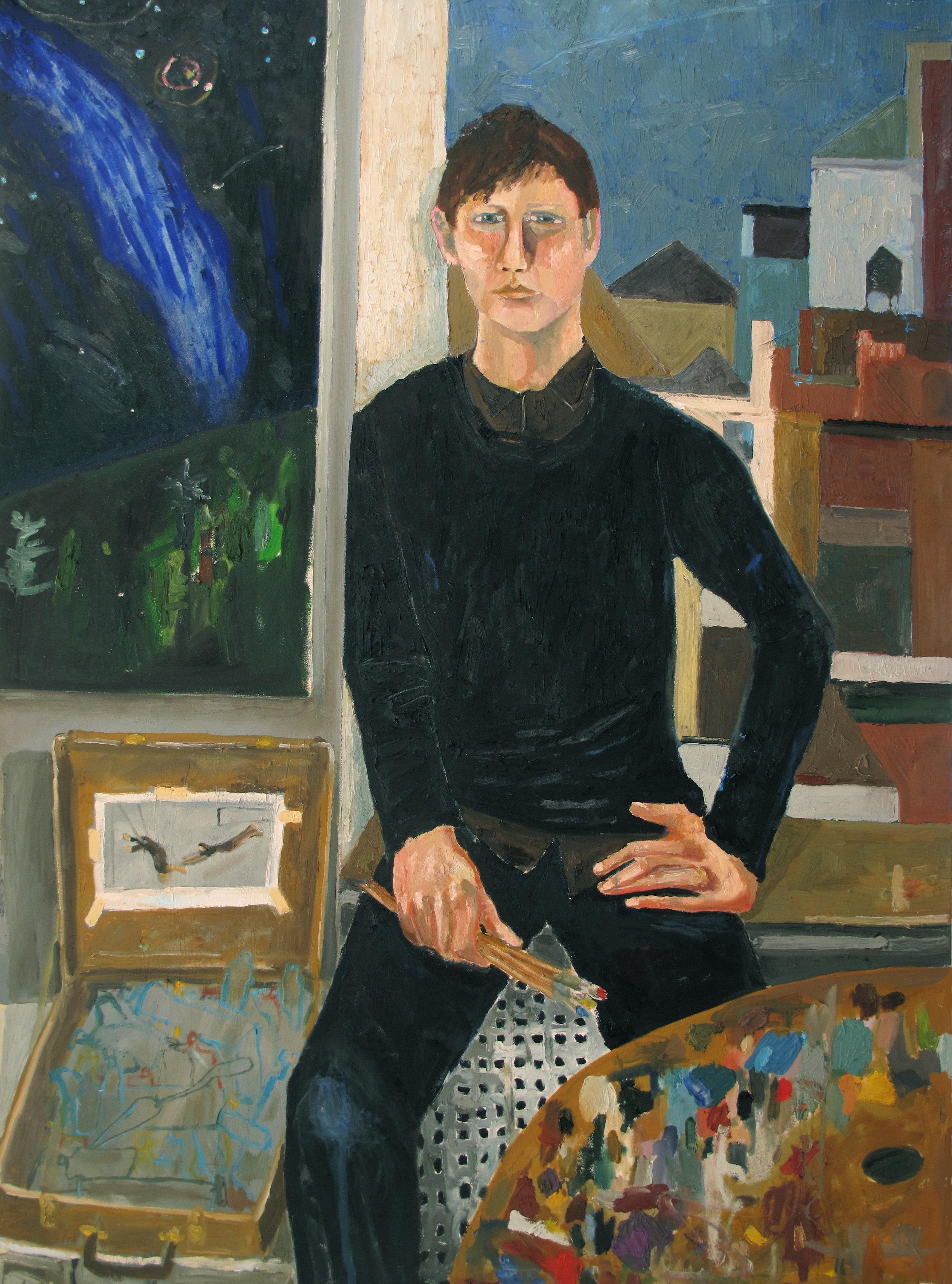 Portrait of Silas
