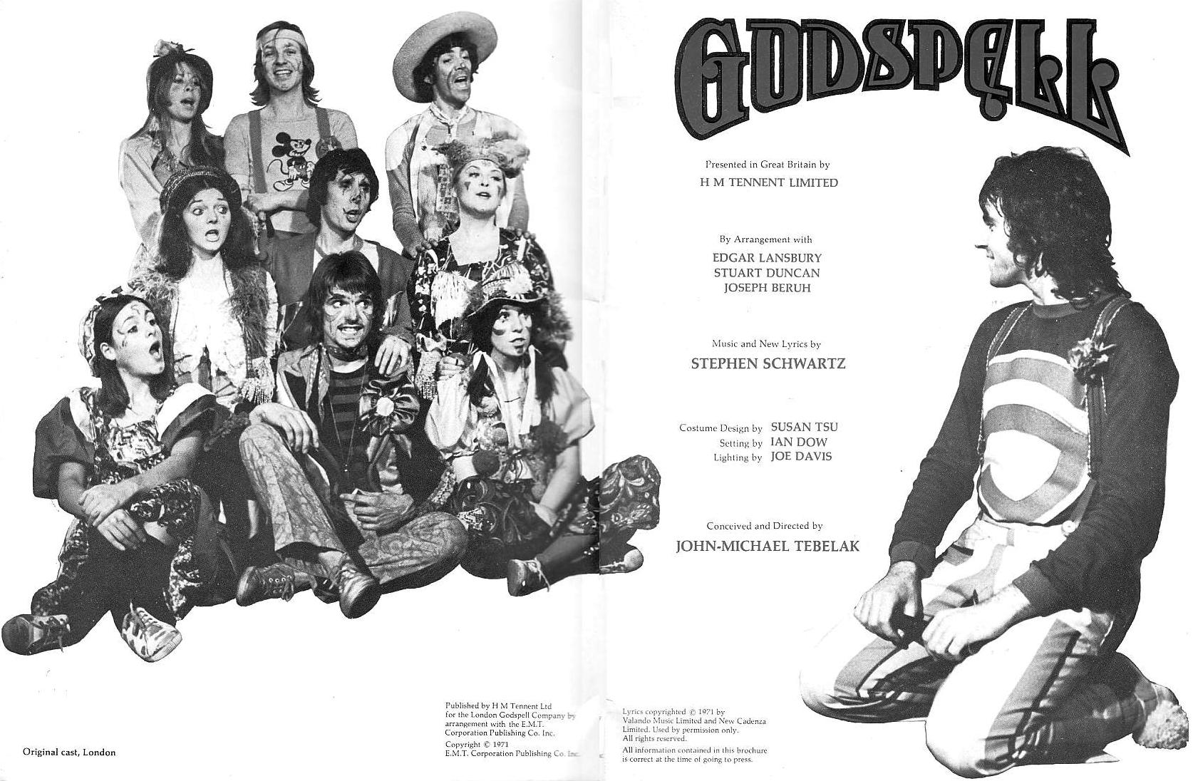 GODSPELL 1972