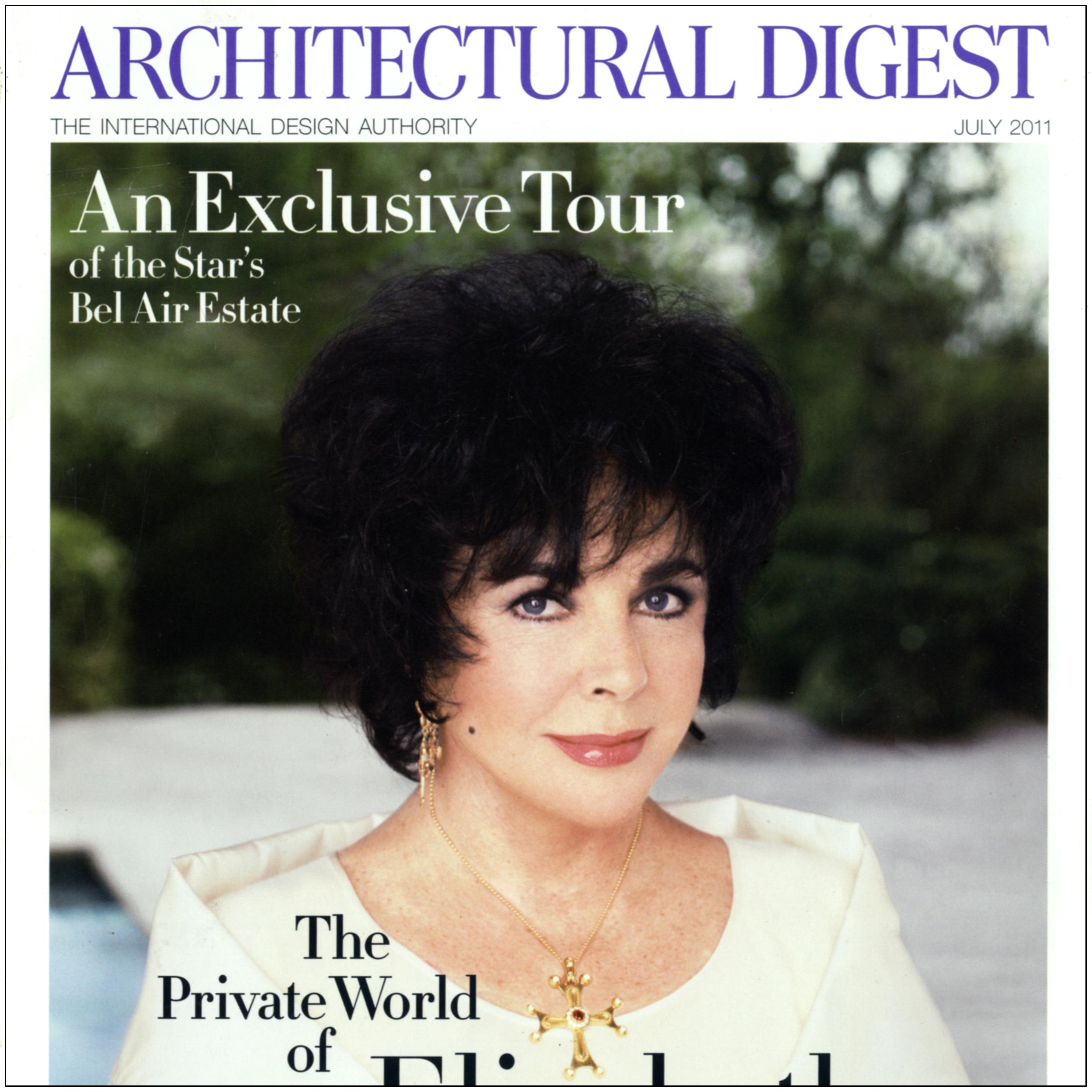 Architectural Digest, Elizabeth Taylor